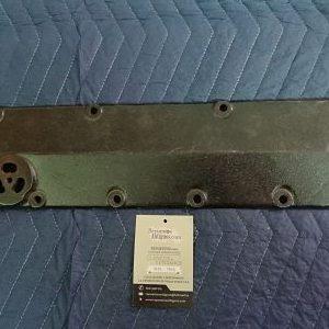 Tapa lateral de válvulas original fabricada en hierro para Ford modelo A años 1928 al 1931.
