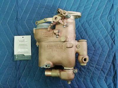 Carburador Schebler tipo Locomobile años 20 y 30.