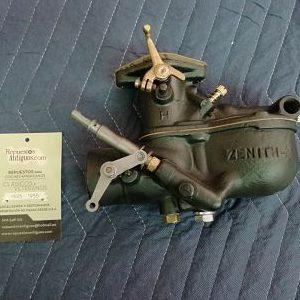 Carburador Zenit para Ford modelo A años 1928 al 1931.